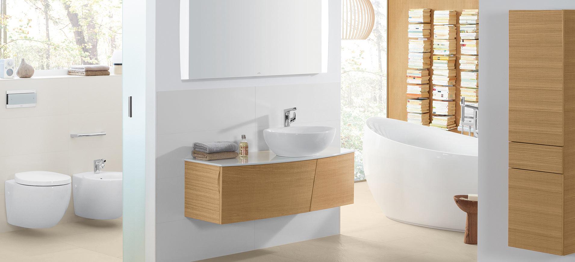 Aveo new generation for Bathroom planner villeroy