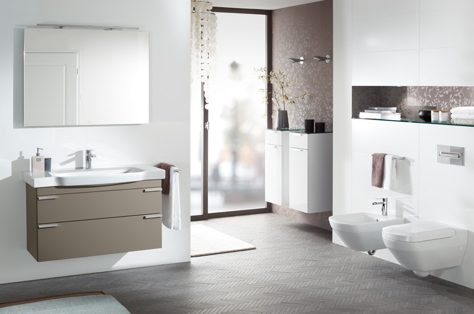 combine the collection with numerous bathroom accessories from villeroy boch to create your bathroom paradise - Villeroy And Boch Bathroom Cabinets